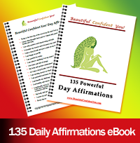 Beautiful Confident You eBook - 135 Daily Affirmations